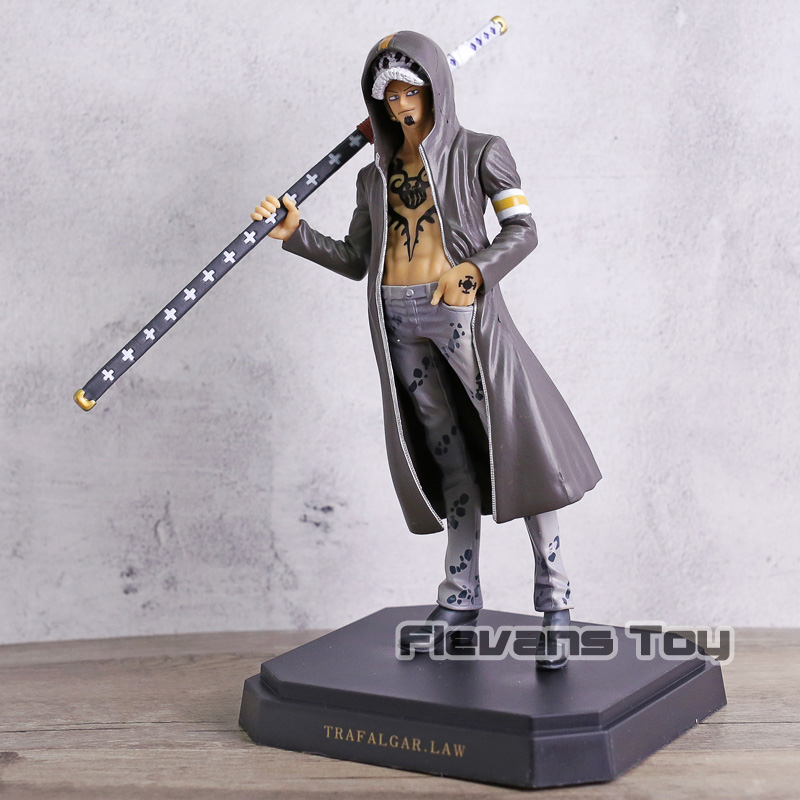 <font><b>One</b></font> <font><b>Piece</b></font> Dressrosa Mokey D Luffy / Trafalgar Law <font><b>Ichiban</b></font> <font><b>Kuji</b></font> Figure Collection Model Figurine Toy Gift image