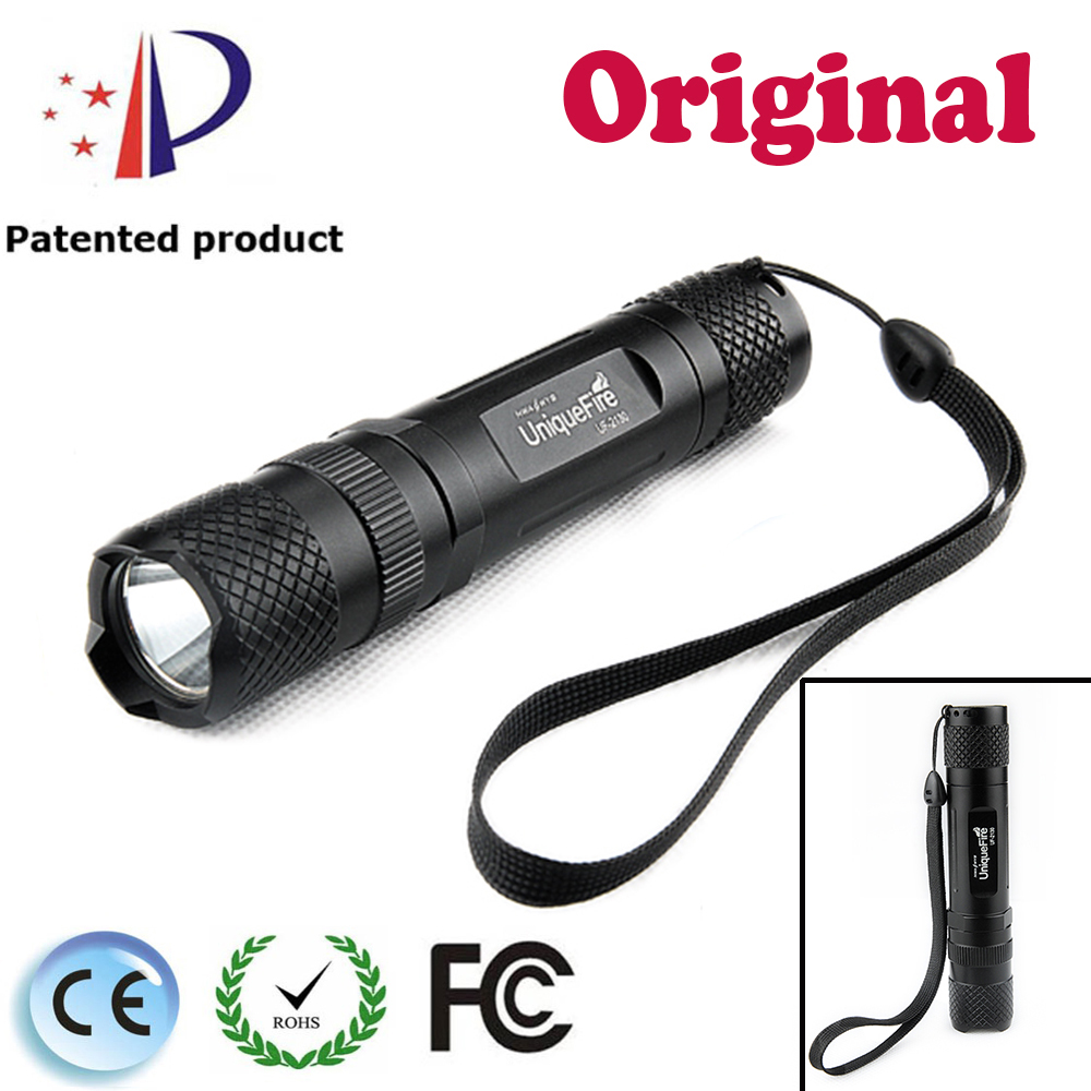 UniqueFire UF-2130 Police Equipment Cree T6 Led Lights 5 Modes Black Rechargeable Led lamp For 1*18650 Battery Shockproof police pl 12921jsb 02m