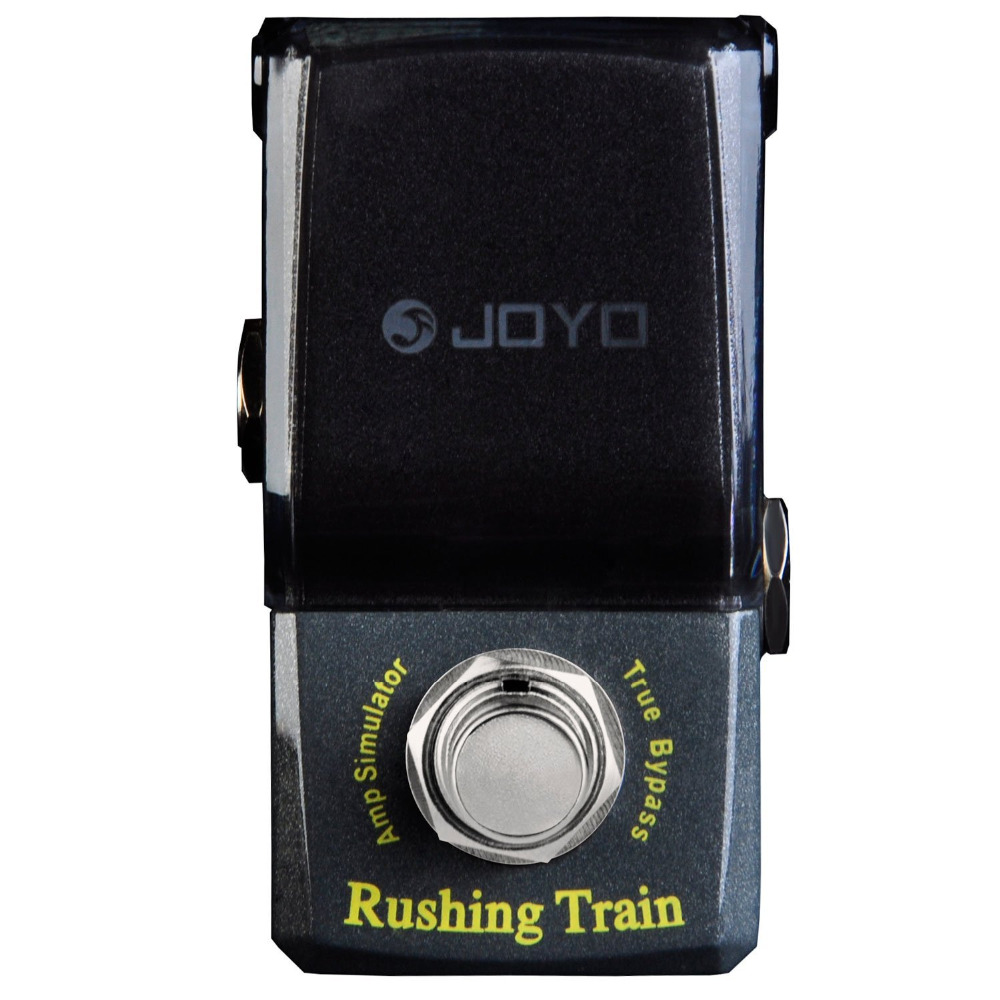 JOYO JF-306 Rushing Train Amp Simulator Mini Electric Guitar Effect Pedal with Knob Guard True Bypass joyo jf 317 space verb digital reverb mini electric guitar effect pedal with knob guard true bypass
