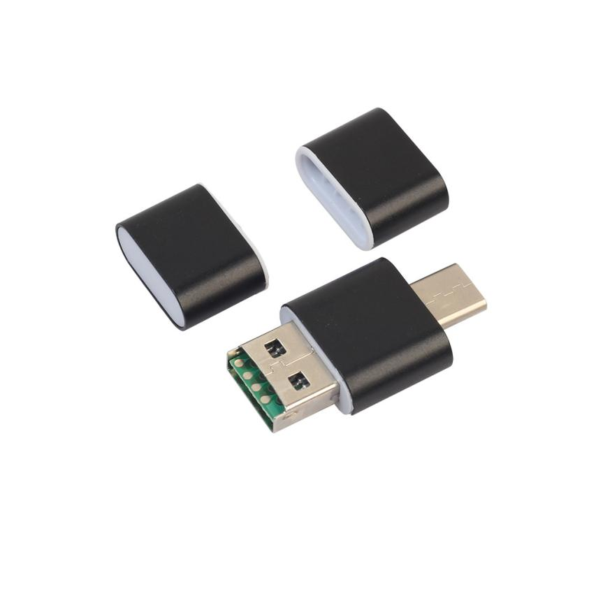 2018 Hot-sale OTG Type C To USB 2.0 Micro SD TF Card Reader Adapter For Android Phone Feb01 micro usb 2 0 otg cable adapter elp male micro usb to female usb for samsung lg sony htc android smartphone with otg function