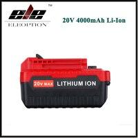 ELEOPTION 20 V Max 4000 mAh 4.0Ah Lithium-ionen Akku für Porter Cable PCC685L PCC680L PCC681L