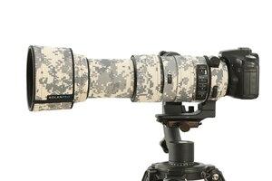 Image 3 - ROLANPRO imperméable lentille Camouflage manteau couverture de pluie pour Sigma 60 600mm f4.5 6.3 DG OS HSM Sport lentille étui de protection pistolets tissu
