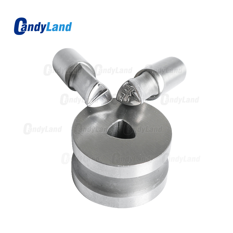 CandyLand TS Milk Tablet Die 3D Punch Press Mold Candy Punching Die Custom Logo Calcium Tablet Punch Die For TDP1.5 Machine-in Punching Machine from Tools    2