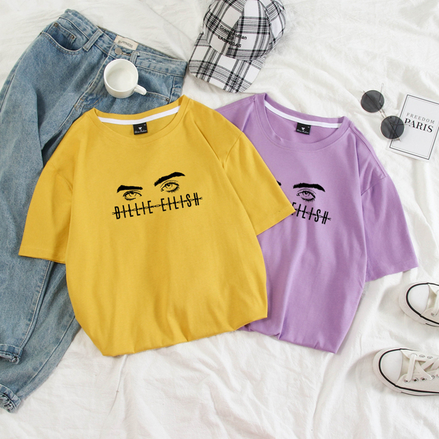 BILLIE EILISH T-SHIRT II (9 VARIAN)