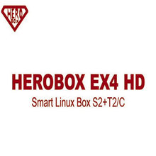 HEROBOX EX4 HD Enigma2 prend en charge DVB-S2/T2/C récepteur Satellite système Linux nouvelle Version de Solo pro V4 prend en charge CCCAM Youtube IPTV(China)