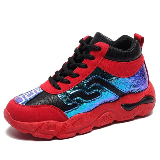 Женская спортивная обувь Новое поступление Красные Модные женские кроссовки дышащая сетка Пара кроссовки для женщин
