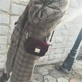 Женщины-посланник-сумки сумка Бархатная сумка женская Старинные Сумка черный и красный мешочек Бесплатная Доставка baobao