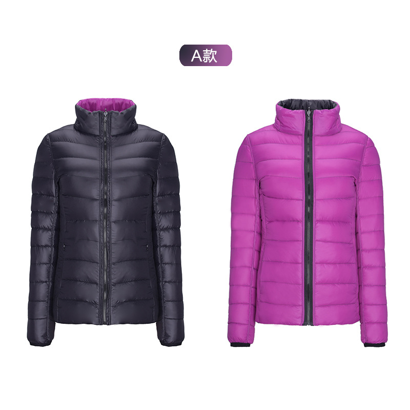 Woxingwosu girl's down jacket students down jacket plus-size fashion white duck down warm coat size S to XL 2XL 3XL 4XL 5XL 6XL