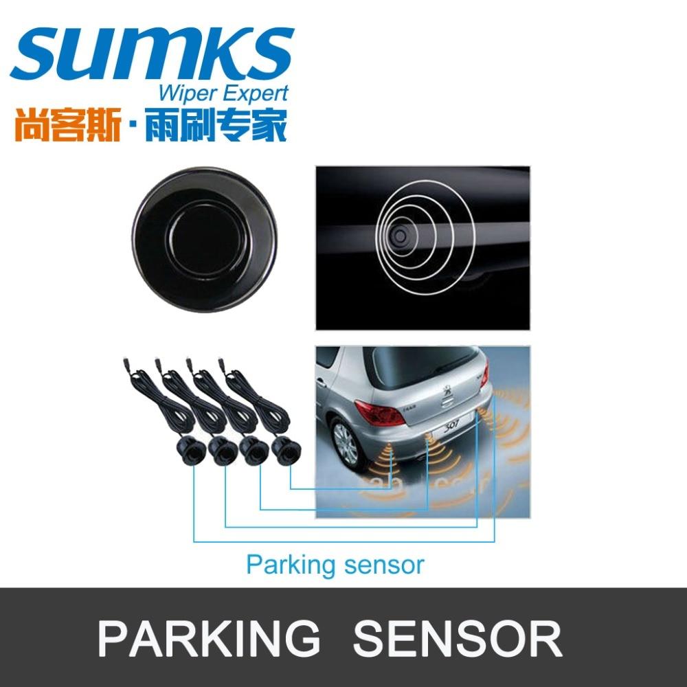 Summerparkeringshjälp med 4 sensorer och LED-display Omvänd - Bilelektronik - Foto 3