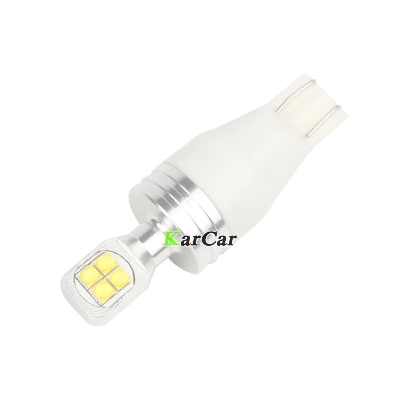 2 piezas brillante 390LM XBD 40W T15 LED Bombilla de cola de coche - Luces del coche - foto 3