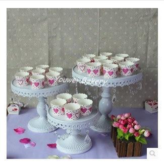 LARGE SIZE 30CM DIAMETER IRON METAL HAPPY BIRTHDAY ROTATING CUPCAKE CAKE PLATE DECORATING WEDDING STAND FREE SHIPPING