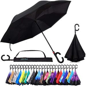 Image 1 - Upside Down UV Protection Unique Windproof Brella That Open Better Than Most Umbrellas, Reversible Folding Double Layer
