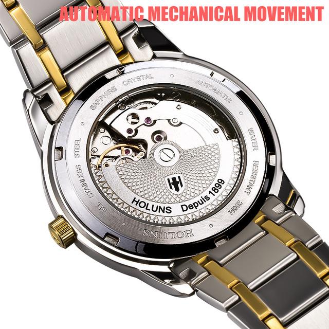 Reloj de acero inoxidable ELEGANTE