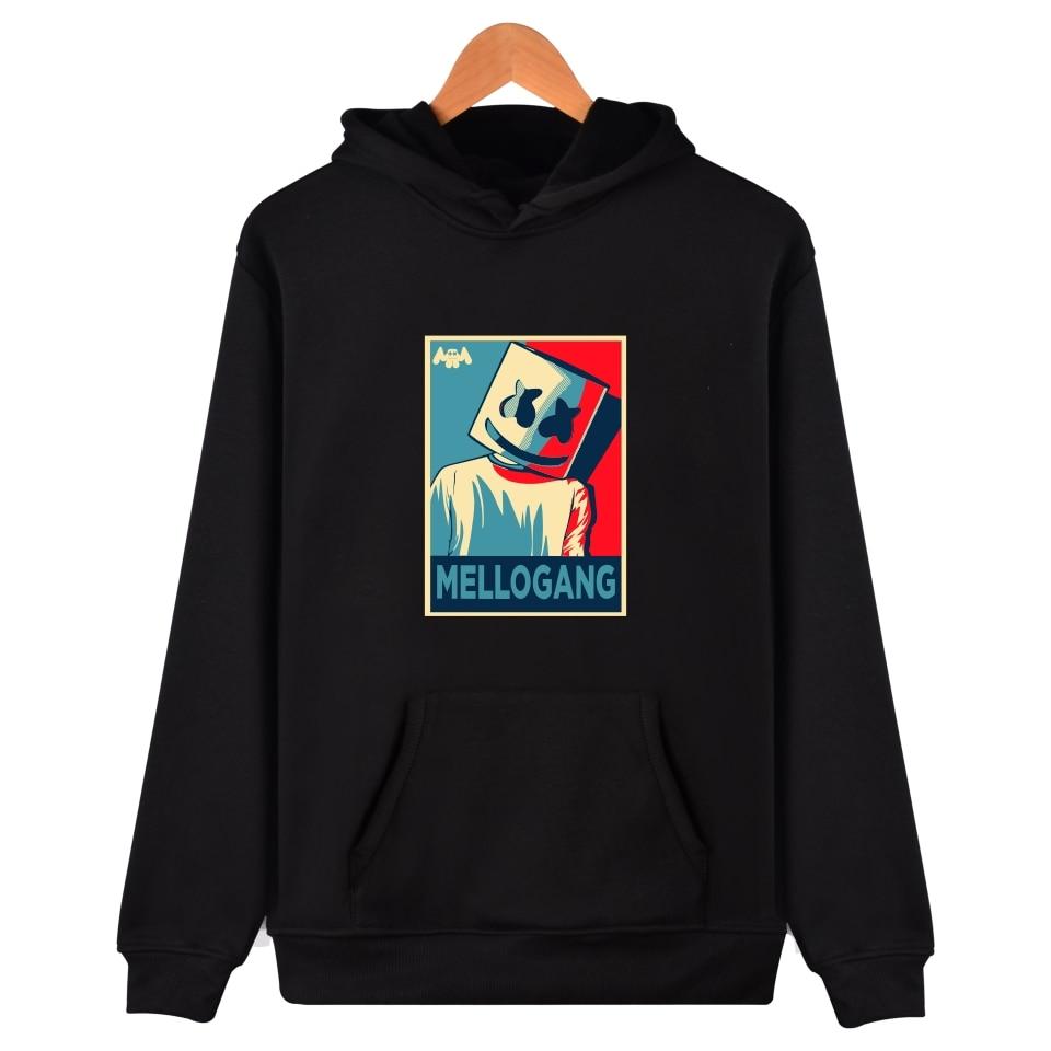 Marshmello Hoodies for Men Casual Slim Fit Hoodies Sweatshirt Male Hip Hop Fashion Streetwear Hoodies Marshmello