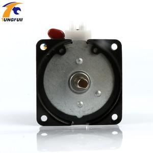 Image 4 - 60Ktyz Ac Permanente Magneet Synchrone Motor 220V Gear Motor Miniatuur Lage Snelheid Grote Koppel Kleine Motor