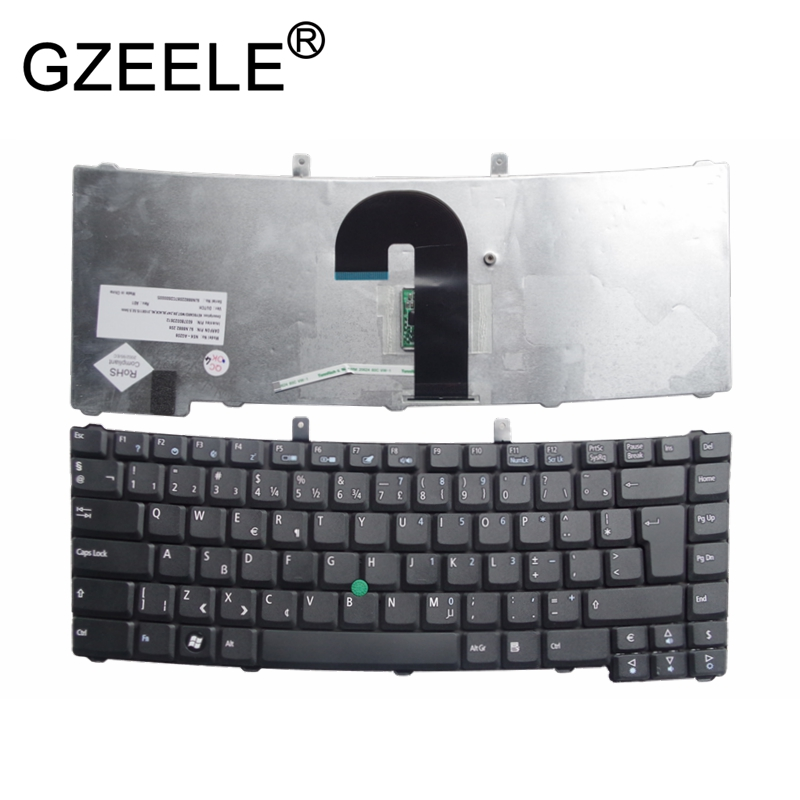 GZEELE New Keyboard For Acer TravelMate 6410 6452 6460 6490 6492 6493 6552 6592 6592G 6593 With Pointing Sticks With Pointer