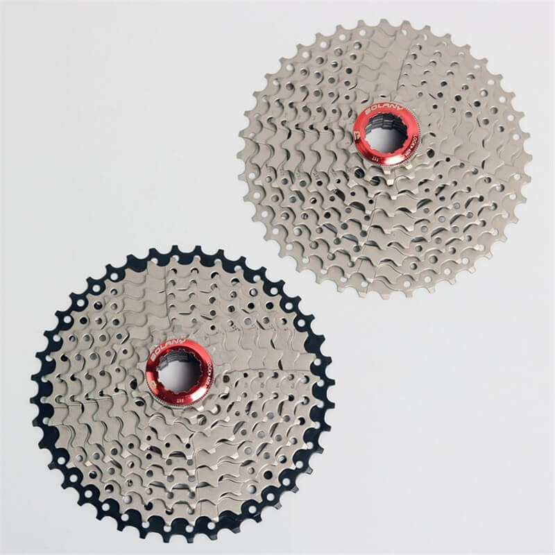 BOLANY Bike Bicycle Freewheel 9 Speed 11-40T MTB Mountain Road Bike Steel Casette Flywheel Freewheel Wide Tooth Ratio sunshine 11 speed 11 42t cassette bicycle freewheel mtb mountain road bike bicycle wide ratio freewheel steel climbing flywheel