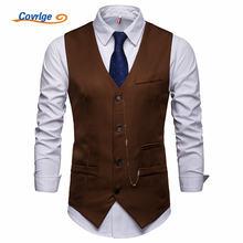 Covrlge Новое поступление нарядные жилеты для мужчин костюмный