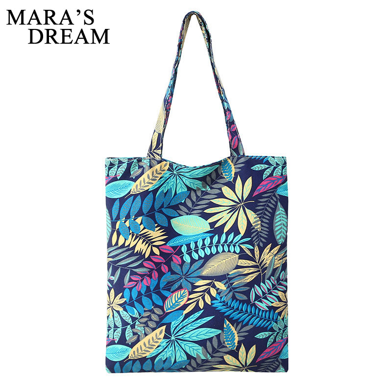 Women Bag Travel-Bag Canvas Large-Capacity Fashiobn Trend Zipper Cartoon Mara's-Dream
