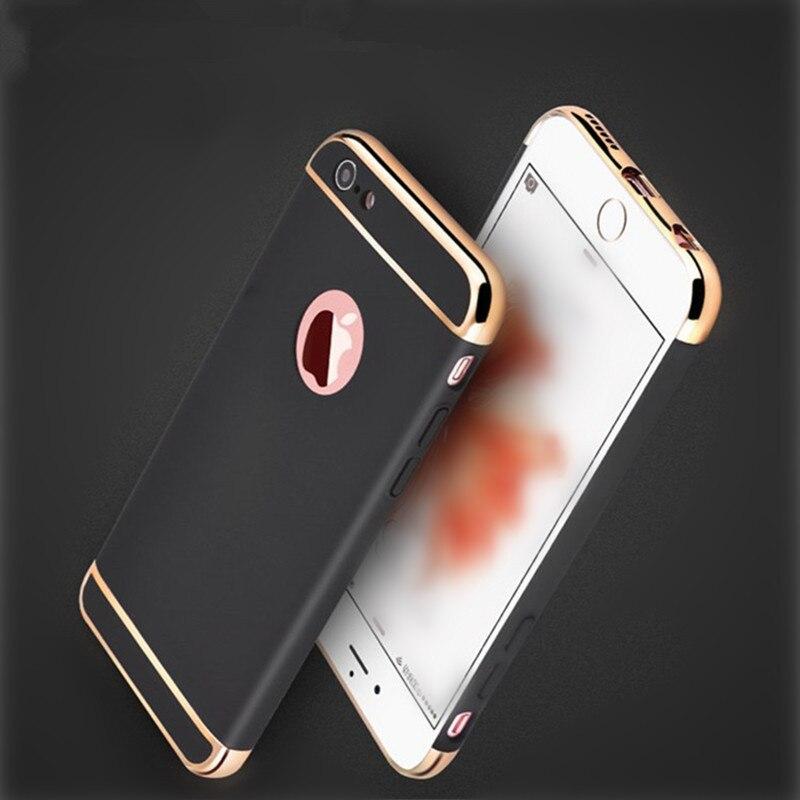 Fundas de teléfono mate de lujo para iPhone 6 Funda 6s Plus iPhone 7 - Accesorios y repuestos para celulares