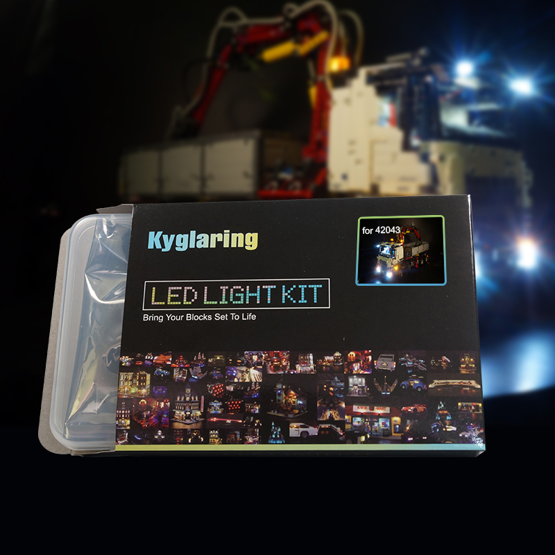 Kyglaring LED light up kit only light included for 42043 technic series 3245 truck
