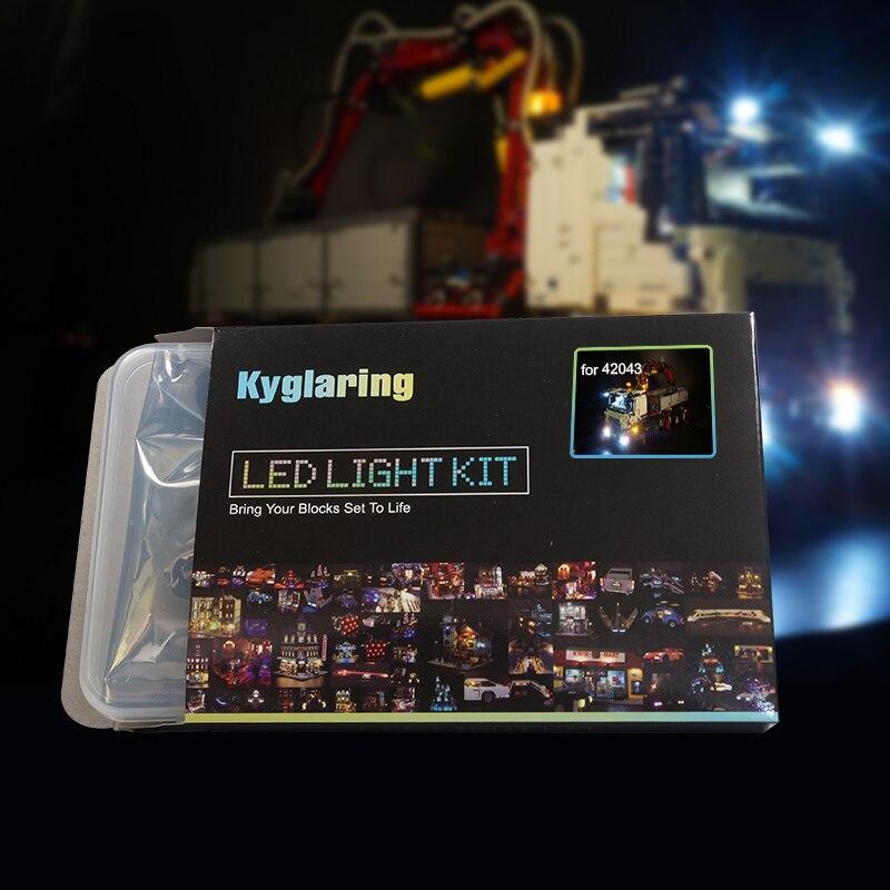Kyglaring  LED light up kit (only light included)  for  42043  technic series  3245 truck