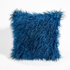 Image 5 - CAMMITEVER Simulation Fake fur Suede Luxury Cushion Cover Wholesale Decorative Throw Pillows For Sofa Car Chair Office Hotel