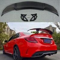 Для Mercedes Benz CLA W117 CLA180 CLA200 CLA250 CLA260 углеродного волокна задний спойлер, крыло, багажник Vorsteiner Стиль на 2014