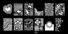 1 PCS Flower/Animal Designs DIY Polish Stamping Nail Stamp Templates Art Printing Plates Nails Manicure Tools ##JR02