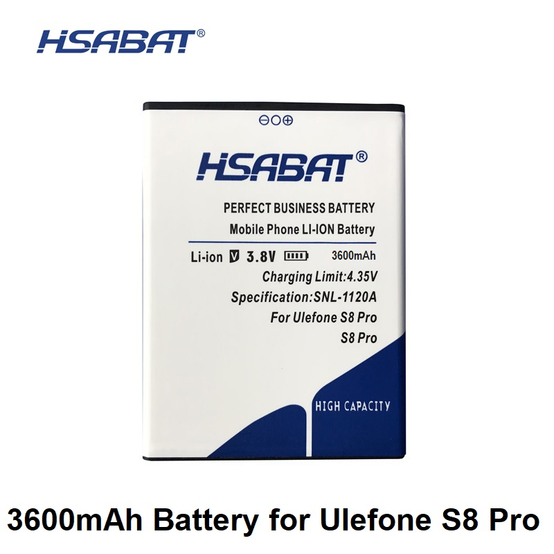 Mobile Phone Batteries Hsabat 3600mah Battery For Ulefone S8 S8 Pro 5.3inch Mtk6737 Mtk6580 We Have Won Praise From Customers