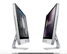 Chinese factory cheap price wireless 18.5 21.5 23.5 27inch custom white desktop computer PC All in One PC desktop