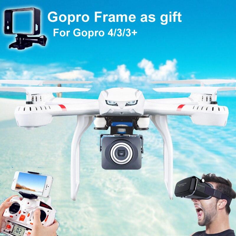 MJX X101 Quadcopter Профессиональный дроны большой Размеры Wi Fi FPV Gimbal можно добавить C4015/C4018/C4016 720 P HD камера видео в режиме реального времени дроны