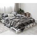 Зимнее шерстяное одеяло Ferret кашемировое одеяло теплые одеяла флис плед супер теплый мягкий пледы на диван-кровать