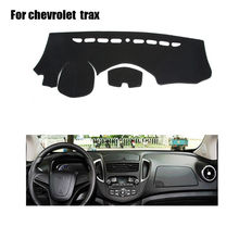 Car dashboard covers mat For Chevrolet trax 2014 left hand drive dashmat car dash pad dash cover Instrument platform accessories