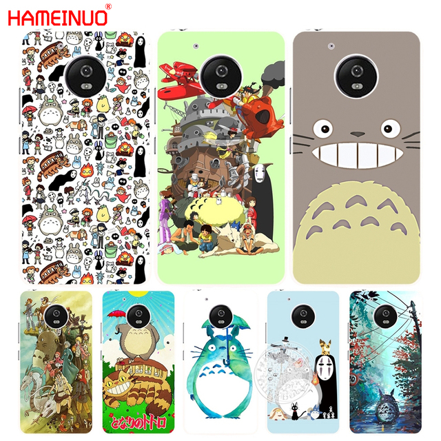 best website 0f841 2aec3 US $2.92 |HAMEINUO Studio Ghibli Spirited Away Totoro case cover for  Motorola Moto G6 G5 G5S G4 PLAY PLUS ZUK Z2 pro-in Half-wrapped Case from  ...