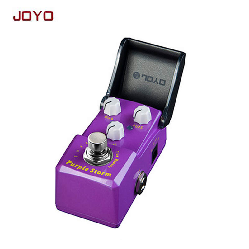 JOYO JF-320 IRONMAN classic Purple-S-torm fuzz guitar effect pedal stompbox reproduce MKIV pedalwidely adjustable true bypass joyo ironman orange juice amp simulator electric guitar effect pedal true bypass jf 310 with free 3m cable