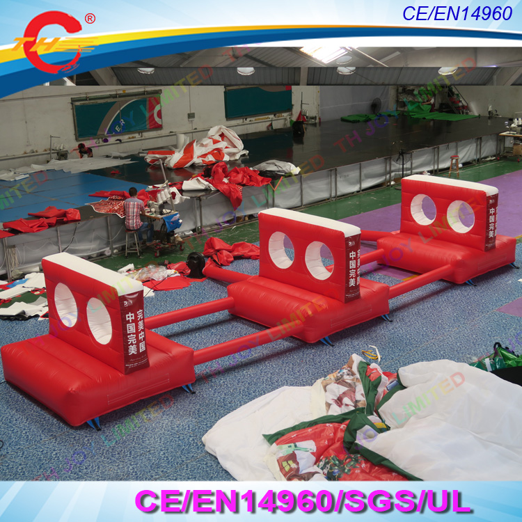 Inflatable Tunneling Hole Drilling Sport Game For Kids