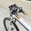 Nuevo manillar de bicicleta plegable superlogic 2017 mango de carretera desnudo 660mm 600G Compatible con 25,4/31,8 tallo envío gratis
