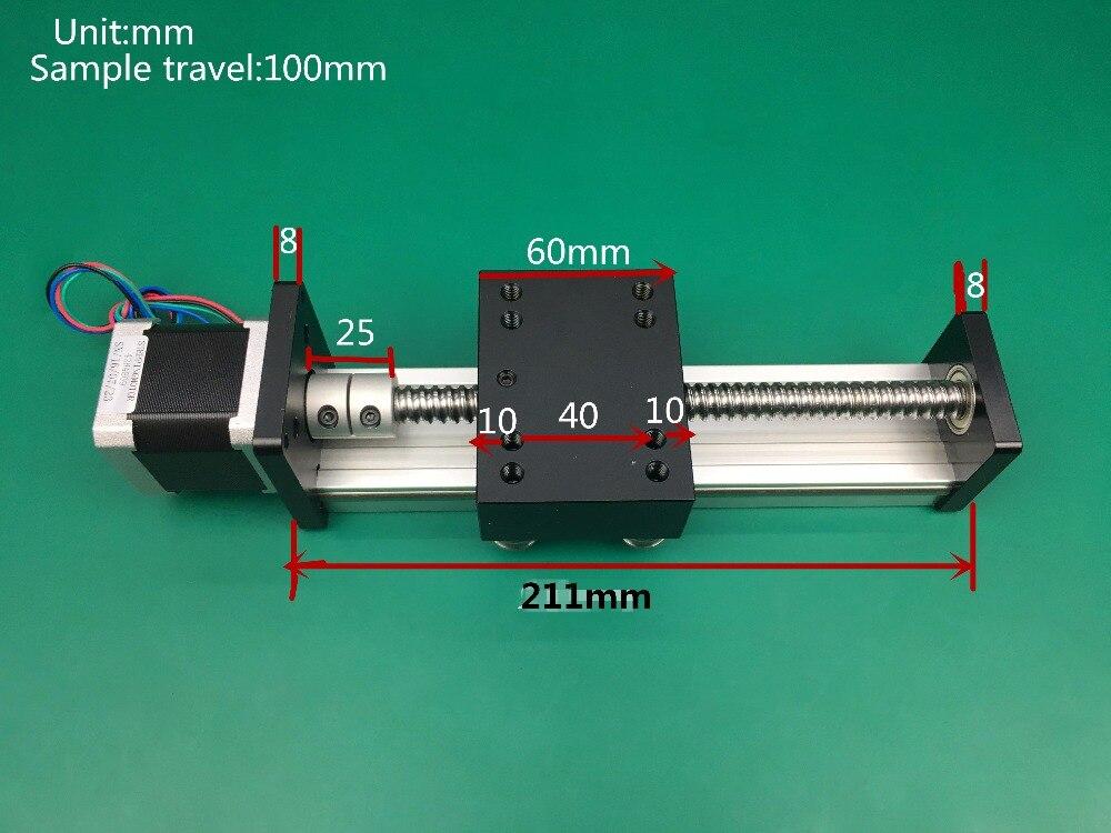 Мм Бесплатная доставка 150 мм Китай 40Kgs Максимальная нагрузка Таблица линейный слайд для гравировки линейный рельс