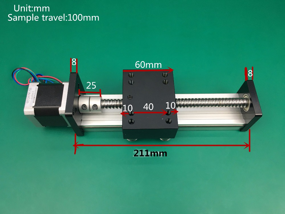 Free shipping 150mm China 40Kgs Max Load Table Linear Slide For Engraving Linear railFree shipping 150mm China 40Kgs Max Load Table Linear Slide For Engraving Linear rail