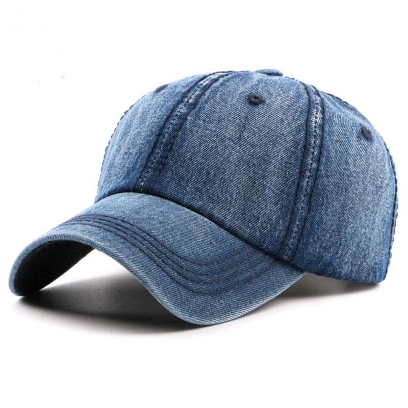 2017 New Denim baseball cap for Man Woman Vintage Peaked hat Cowboy leisure cap outdoor snapback casquette dad hat