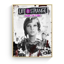 Life Is Strange The Storm Video Game Canvas Prints Modern Painting Posters Wall Art Pictures For Living Room Decoration No Frame life is strange before the storm особое издание xbox one