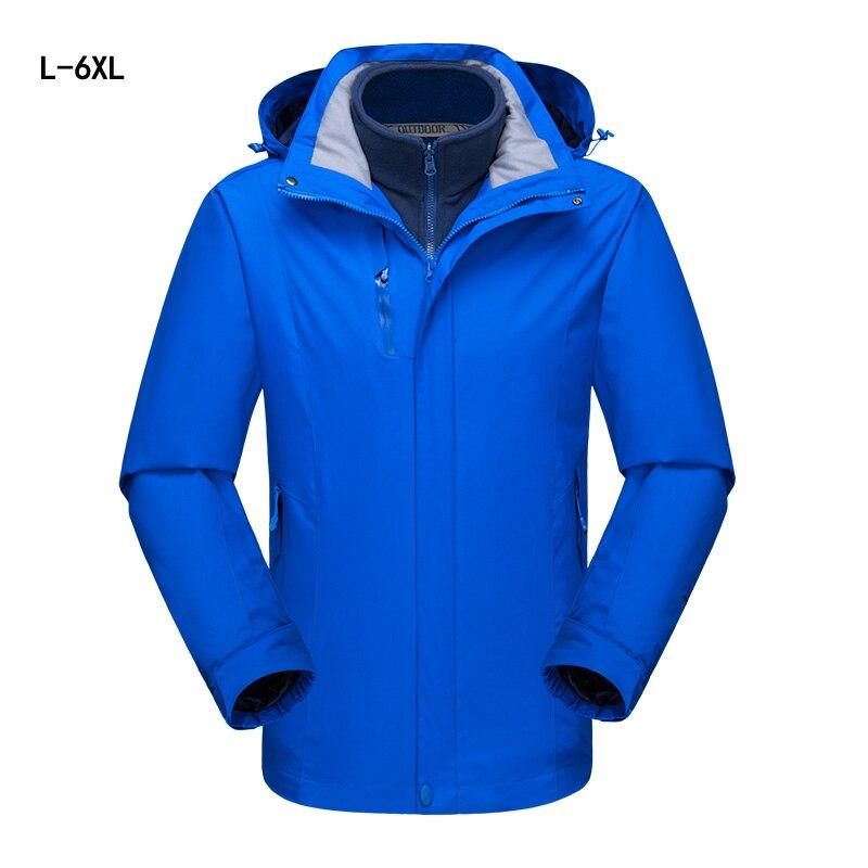2018 veste imperméable thermique vestes hommes hiver extérieur randonnée coupe-vent Chaquetas Hombre Camping coupe-vent Ski manteau