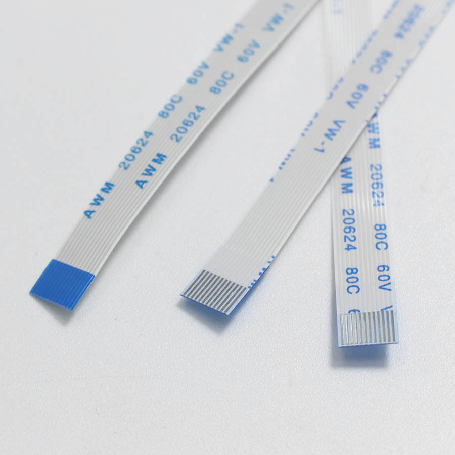 2pcs 12P /FFC FPC Flexible Flat Cable 0.5mm / 1.0mm Pitch 12Pin Type A / B Length 50mm 80mm 120mm 100mm 150mm 200mm 250mm 300mm