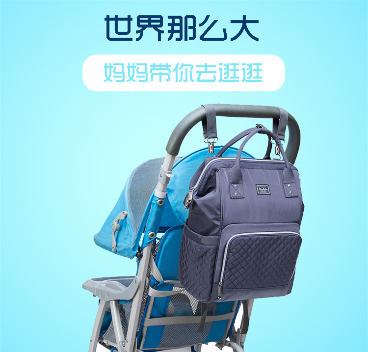 2019 new fashion Diaper bag multi-function Mummy Maternity Nappy Bag Brand Large Capacity Travel Backpack Designer (1)