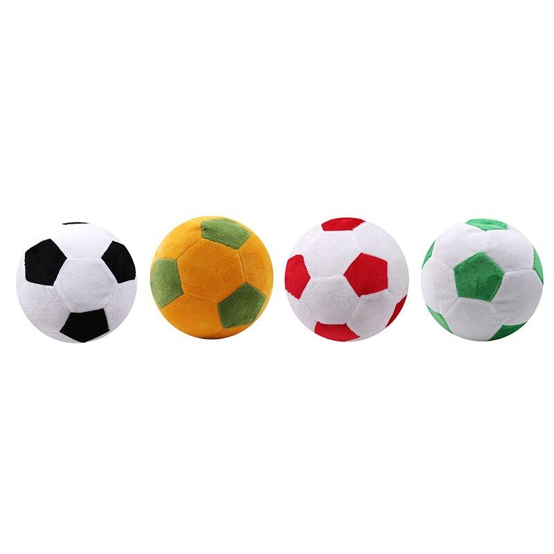 Soccer Ball Pillow Fluffy Stuffed Plush Throw Soft Durable