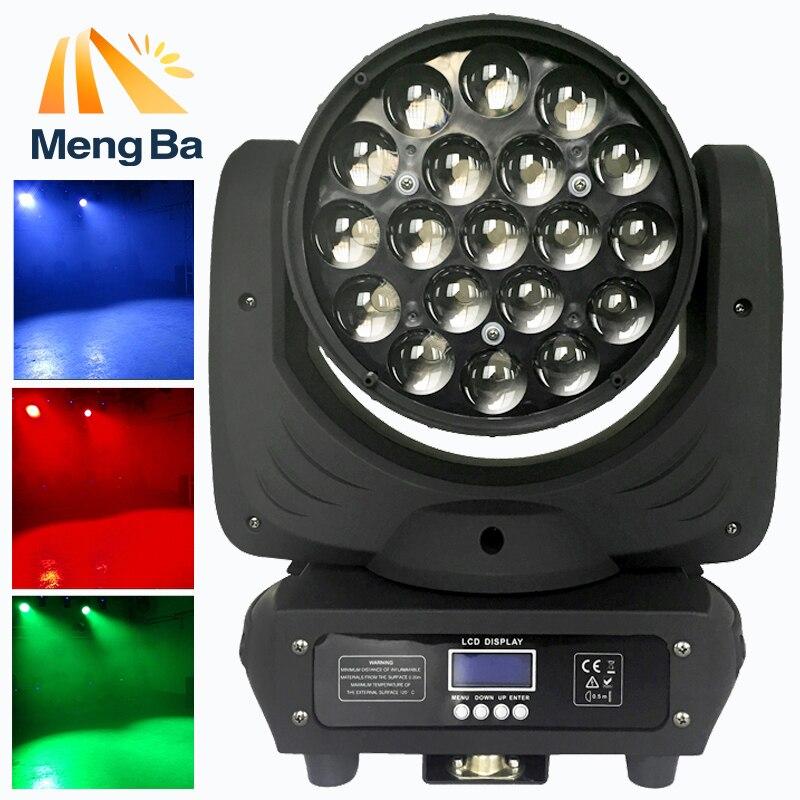 19x12 w Led RGBW Lavage/Zoom Lumière DMX512 Tête Mobile Lumière Professionnel De Mariage lumière/DJ/ bar/Partie/Spectacle/lumière De Noël