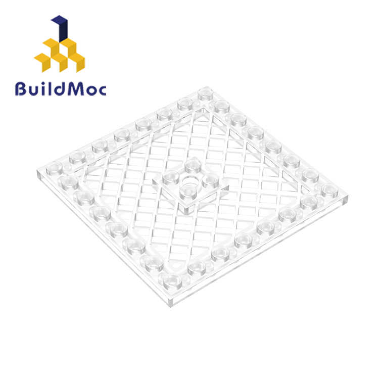 BuildMOC Compatible For lego 4151 8x8 For Building Blocks Parts DIY LOGO Educational Creative gift Toys