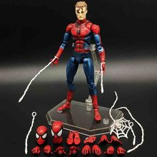 16cm Marvel Spider Man Spider-Man: Far From Home Action Figure Homecoming Ver Legends Far From Home Medicom Toys Doll spider gwen spider girl figure spider man iron man civil war 16cm pvc action figures doll toys