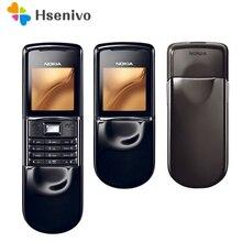 Original Nokia 8800 sirocco 128MB phones English / Russian keyboard GSM FM Bluet